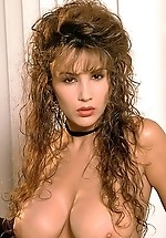 Lisa Ann's brown locks and big...